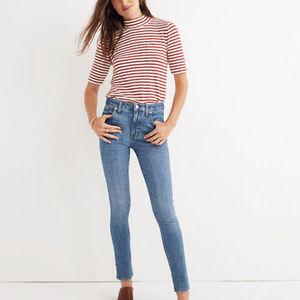 Madewell | 9-Inch High Waist Stretch Skinny Jeans